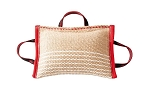 KLIN Jute Bite Pillow With 3 Handles