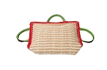 KLIN Jute Bite Pillow With 3 Handles Soft